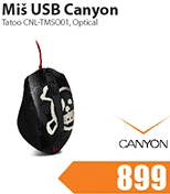 Miš USB Tatoo CNL-TMSO01