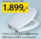 Daska za WC šolju Msv M-604