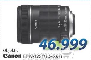 Objektiv EF 18-135 f/3.5-5.6 ls