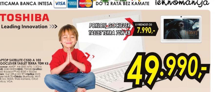 Laptop Satellite C55D-A-103