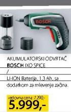 Akumulatorski Odvrtač Ixo Spice