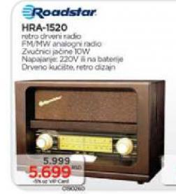 Radio tranzistor HRA-1520
