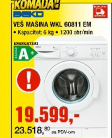 Veš Mašina WKL 60811EM
