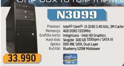 Desktop računar N3099
