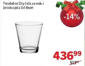 Čaše za vodu i žestoka pića