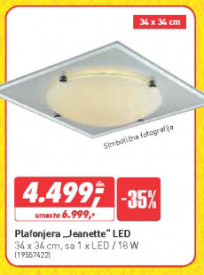 Plafonjera Jeanette LED