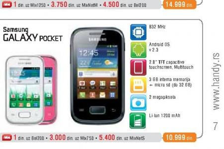 Mobilni Telefon S5300 Galaxy Pocket