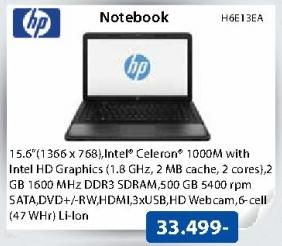 Laptop Notebook H6E13EA