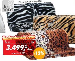 Ćebe Zebra