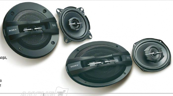 Auto zvučnici XSGT6928F