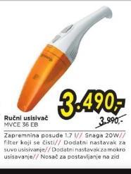 Ručni Usisivač MVCE 36EB