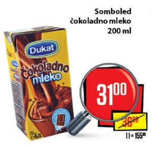Čokoladno mleko Dukat