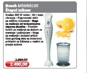 Štapni Mikser Msm 6B150