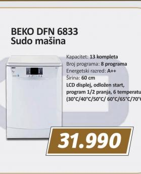 Masina za sudove DFN 6833