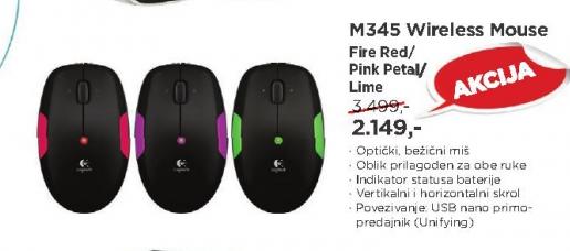 Miš bežični M345