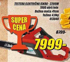 Testera električna 2200w