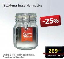 Staklena tegla Hermetiko