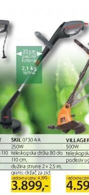 Električni trimer za travu 0730AA