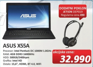 Laptop X55A