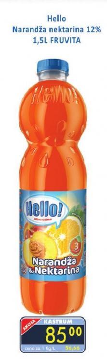 Sok narandža i nektarina
