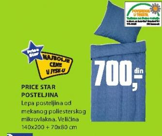 Posteljina Price Star