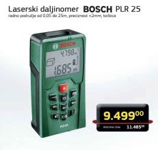 Laserski daljinomer PLR 25