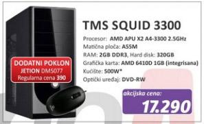 Računar TMS SQUID 3300 + poklon Jetion DMS077 miš