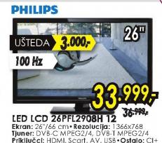 Televizor LED LCD 26PFL2908H/12