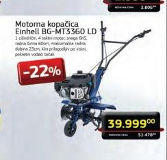 Benzinska motorna kopačica BG-MT 3360