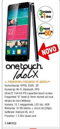 Mobilni telefon One Touch IdolX