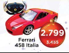 Automobil na daljinsko upravljanje Ferrari 458 Italia Rastar