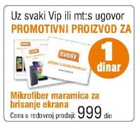 Promotivni proizvod Mikrofiber maramica