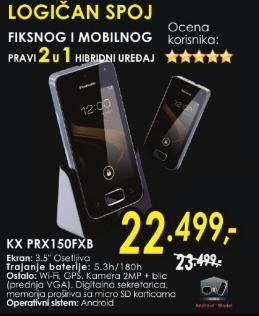 Bežični telefon Kx Prx150fxb