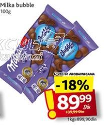 Čokolada bubbly milk