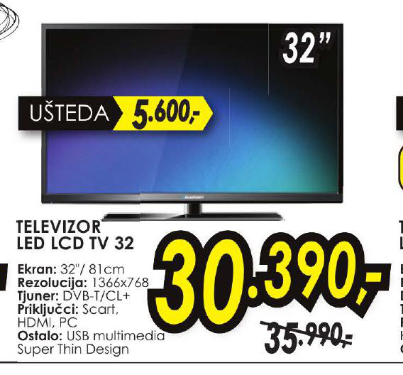 LED LCD 32 TV