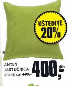 Anten jastučnica