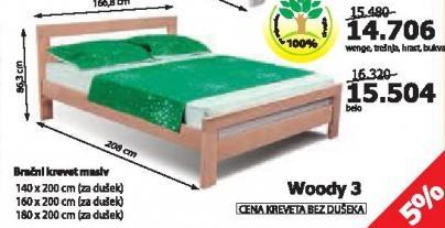 Krevet Woody 3