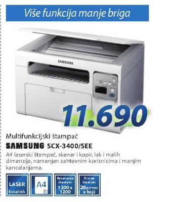 Multifunkcijski uređaj SCX-3400