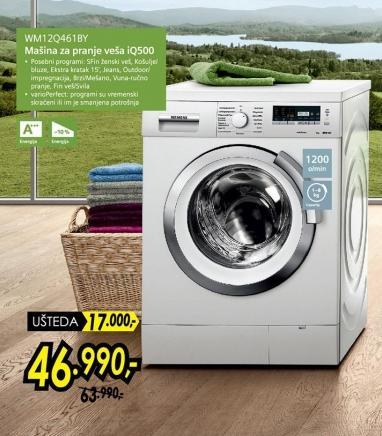 Mašina za pranje veša Wm12q461 By
