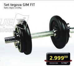 Set tegova GIM Fit