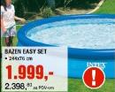Bazen Easy set, 244x76cm