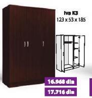 Garderober Iva K3