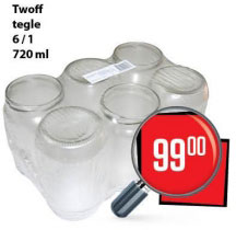 Twoff tegle 6/1 720 ml