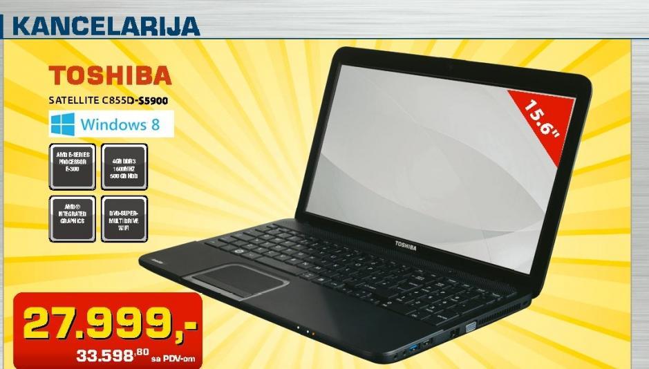 Laptop Satellite C885D-S5900
