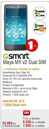 Mobilni telefon Maya M1v2