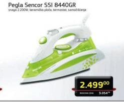 Pegla Sencor  SSI8440GR