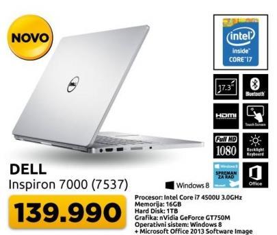 Laptop Inspiron 7000 7537