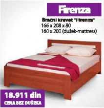 Bračni Krevet FIRENZA
