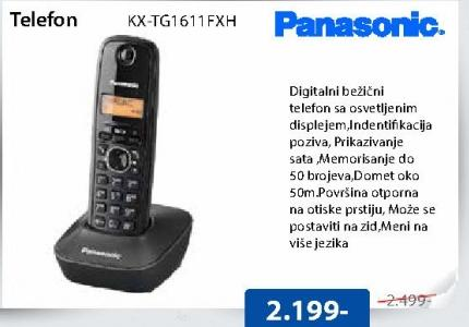 Telefon KX-TG1611FXH