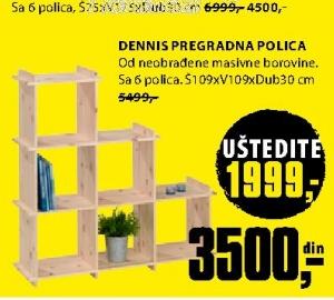 DENNIS PREGRADNA POLICA